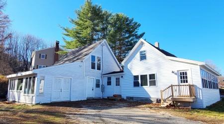 Bethel Village Ski Home (Back)